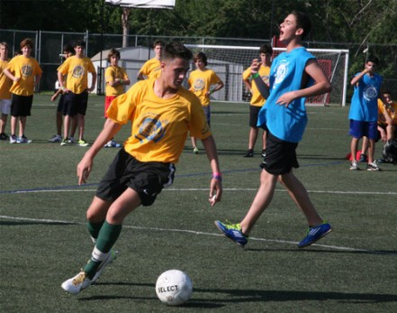 High School Student Participates in Soccer Tournament at last year's Games