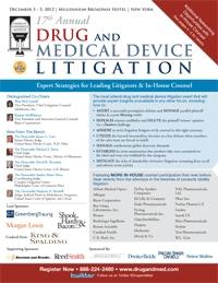 Brochure - Drug & Med Device Litigation