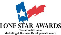 Texas Trust CU received three Lone Star Awards from TCUL