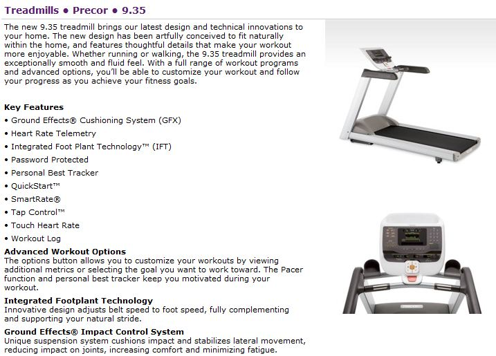treadmill cs13e manual proform