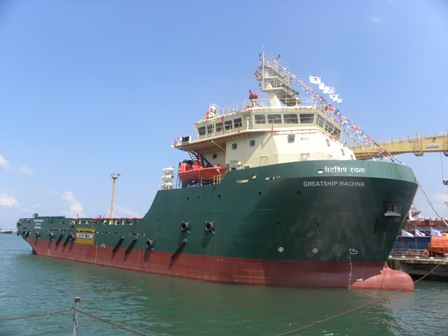 OSV Greatship Rachna ready for delivery