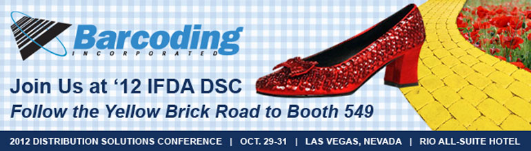 Barcoding, Inc. in Booth 549