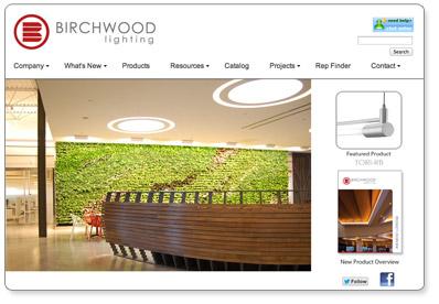 Birchwood Lighting Web Site
