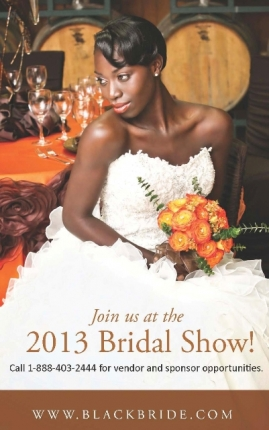 Official Flyer for the 2013 BlackBride.com Bridal Show