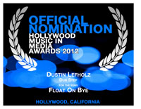 2012_HMMA_Nomination_for_Dustin_Lefholz_Float_On_B