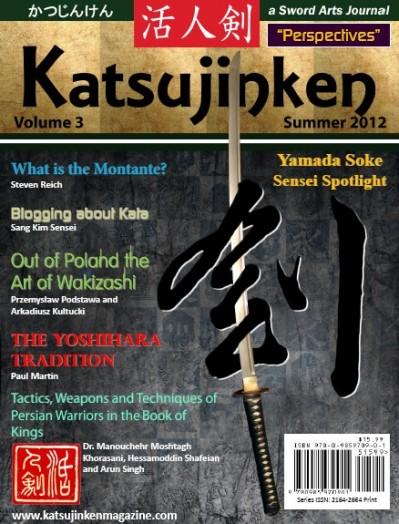 Katsujinken, a Sword Arts Journal Summer Edition