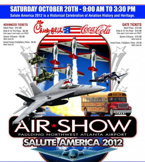 Air Show Poster