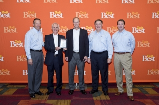 From L to R: Do it Best Corp. President and CEO Bob Taylor, Metal Sales National