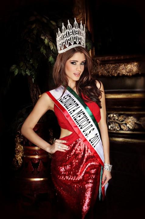 Sarah Lopez - Miss Mexico U.S. 2012