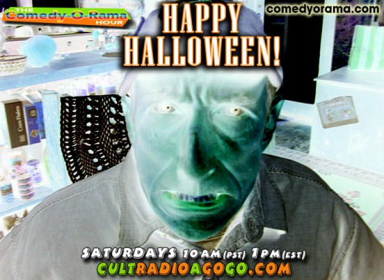 Camp Waterlogg Halloween Saturday 1 pm online at cultradioagogogo.com