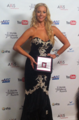 LIZ FULLER hosted the 2012 Mobile Excellence Award