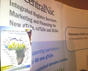 DCA Represented by its Back-End Registry Partner CentraNic, at ICANN 45 Toronto