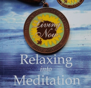 Relaxing into Meditation Book Cover and Award