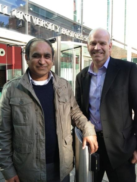 Dr Zaheer  Khan and Dr Steve Johnson