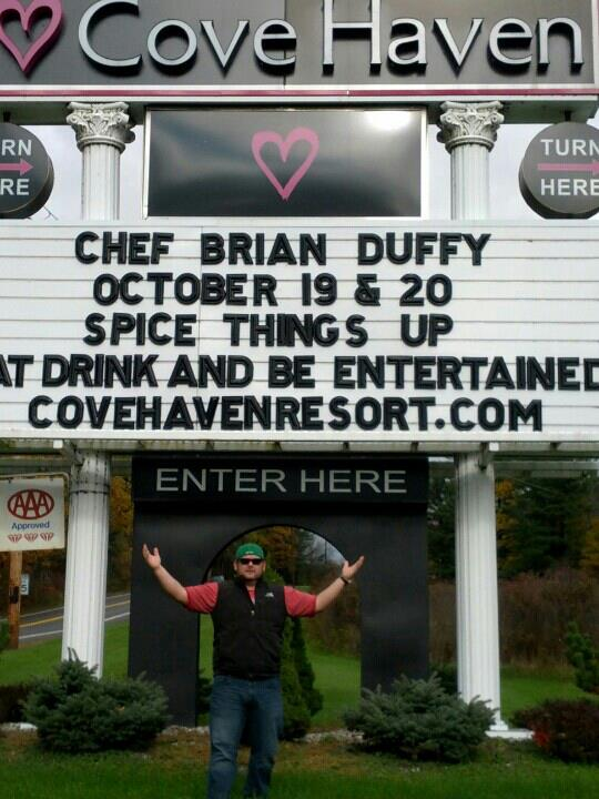 Celebrity Chef Brian Duffy