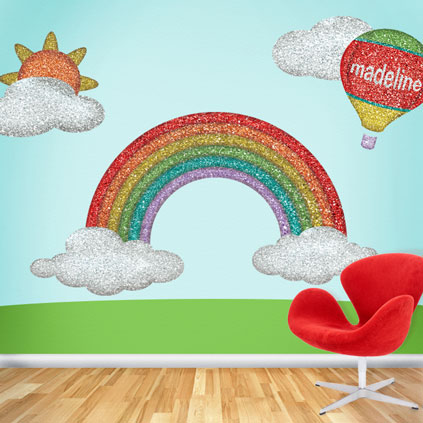 Disco Rainbow Wall Stickers by My Wonderful Walls