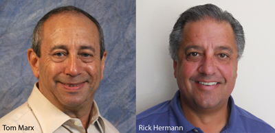 Left to Right: Tom Marx and Rick Hermann