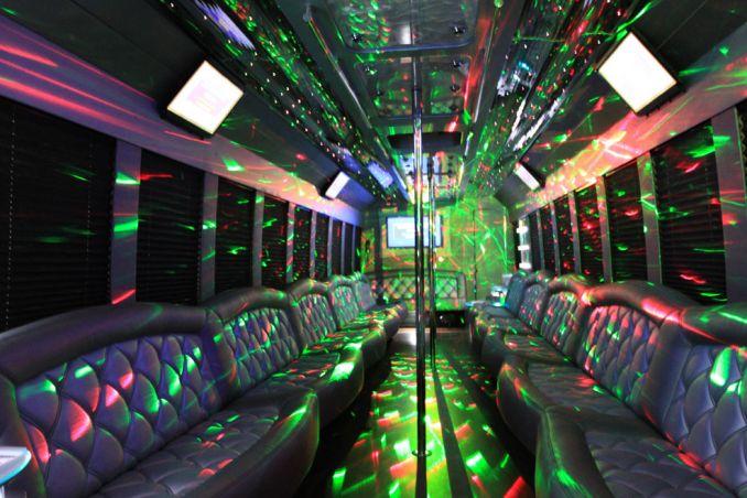 Philadelphia S Biggest Party Bus Keeps Festivities On A