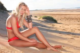 Red Bond Bikini - Spring Summer 2013 Sandstorm Collection