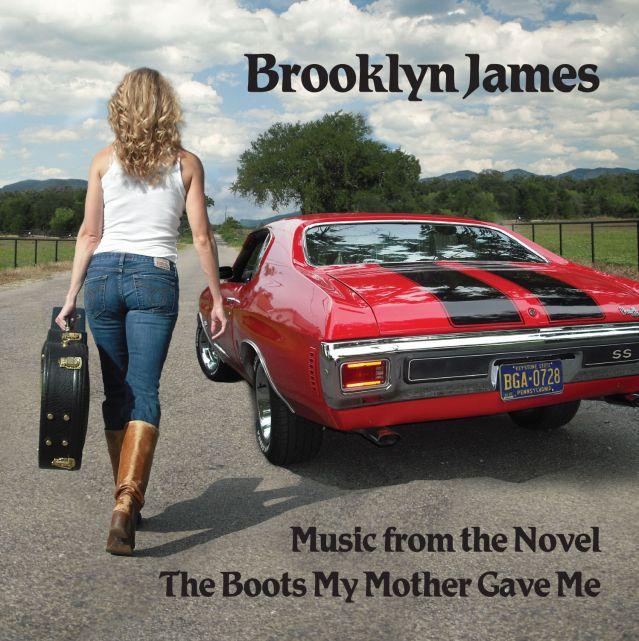 Brooklyn James - Boots Album Cover
