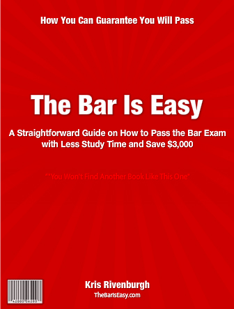 Buy The Bar Exam Is Easy at TheBarIsEasy.com.
