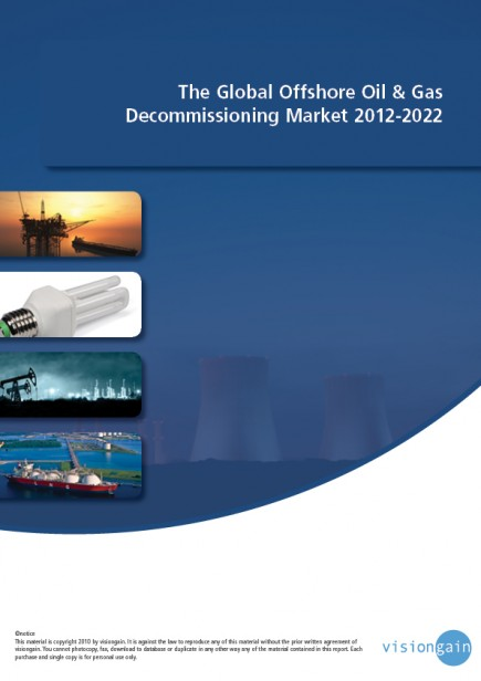 The Global Offshore Oil & Gas Decommissioning Mark