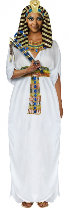Hatshepsut costume from Take Back Halloween