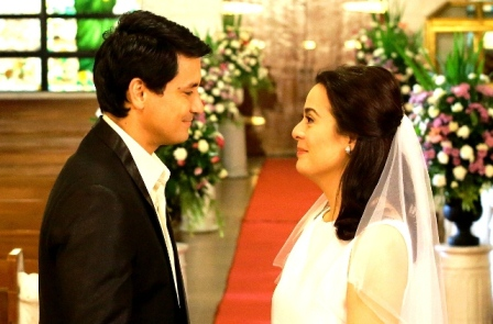 WALANG HANGGAN WEDDING SCENE_Richard and Dawn on t