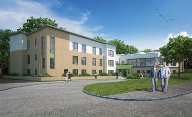 Artist's impression of the new Care UK care home in Edinburgh.