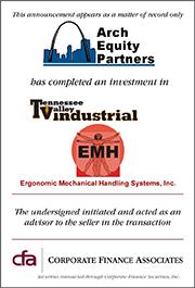 Arch Equity Acquires Ergo-Mechanical