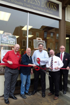 Ribbon cutting ceremony held by the Mechanicsburg Chamber of Commerce