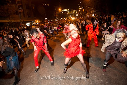 Thriller NYC Zombies