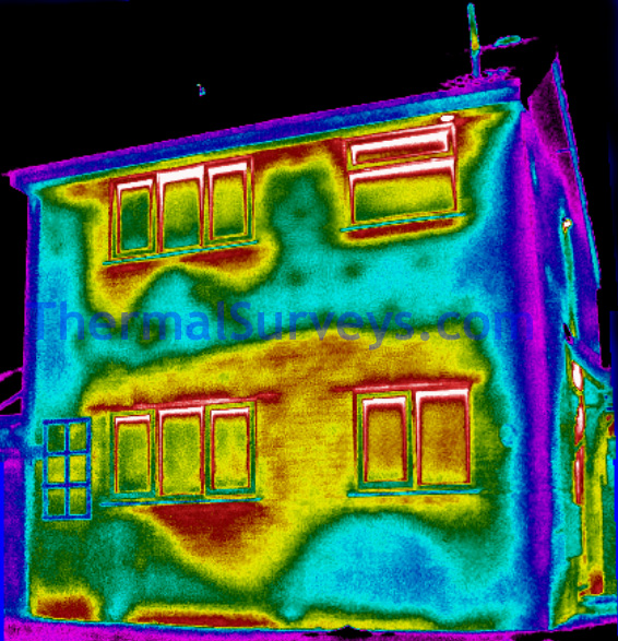 Thermal Imaging of Domestic Home