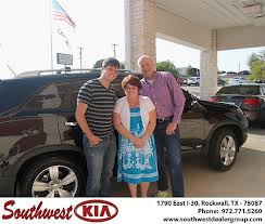 Southwest KIA Rockwall Happy Customer