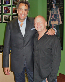Don Barnhart and Brad Garrett