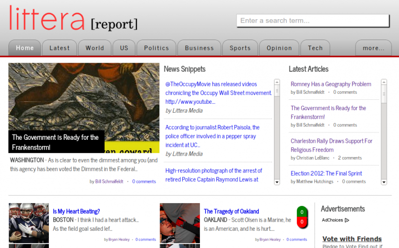 The best source of independent journalism on the web!