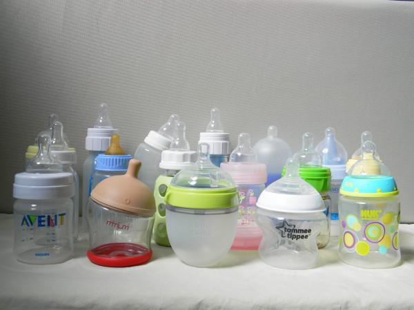 The finalist baby bottles which underwent BabyGearLab's extensive testing