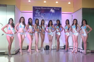 Miss SCUBA Philippines 2012 Finalists.
