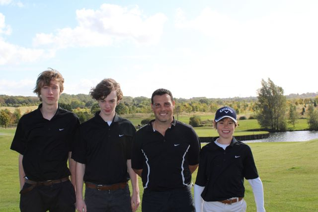 Bedales success on the golf course