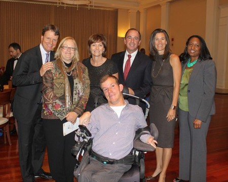 AADD staff and honorees at the 2012 Legacy Breakfast.