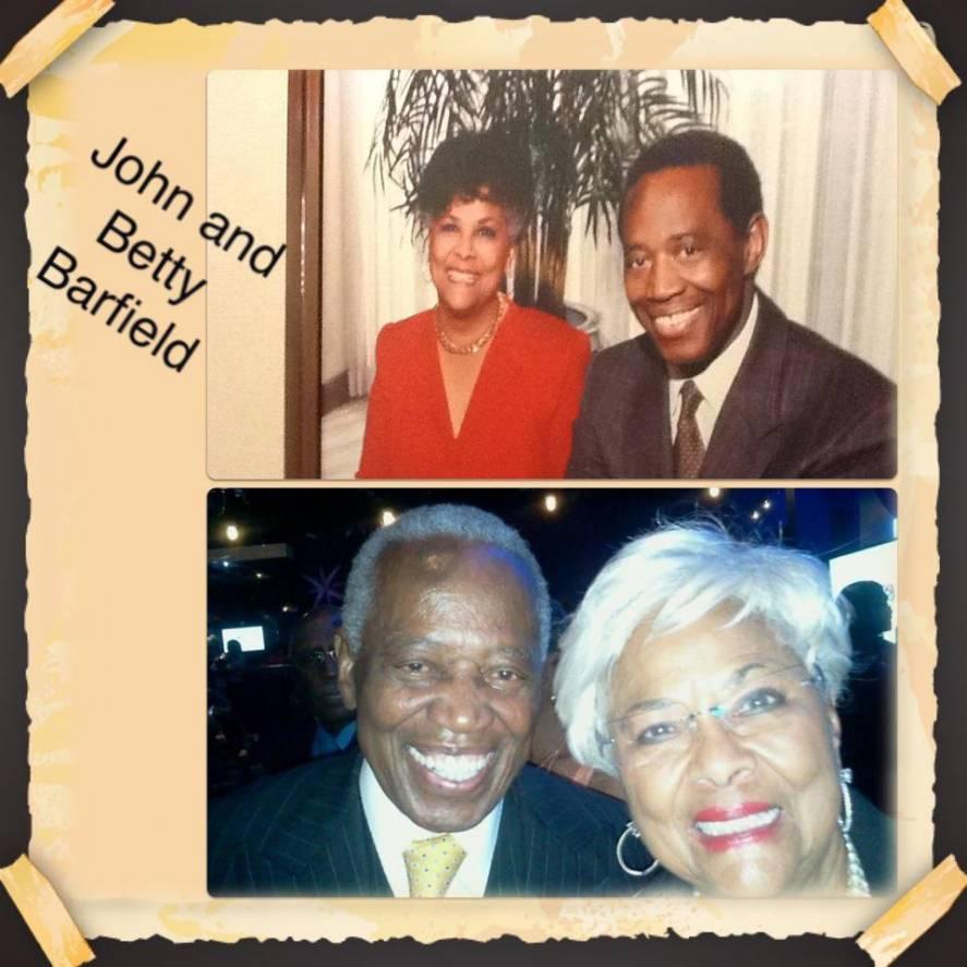 Mr. & Mrs. John and Betty Barfield