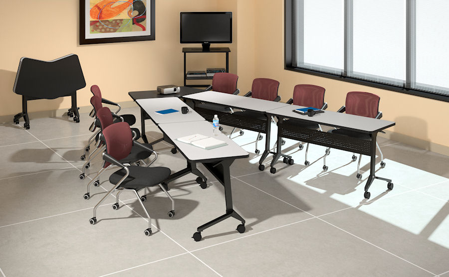 New Breed Of Training Tables Add Flexibility And