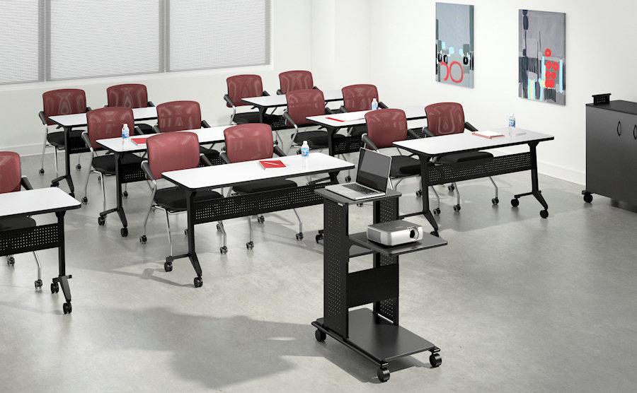 Flip-N-Go Training Room Configuration