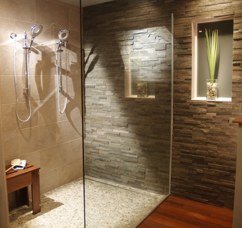 Bathroom Shower Tiles on New Pebble Tile Blends Just Released To Design Community For The