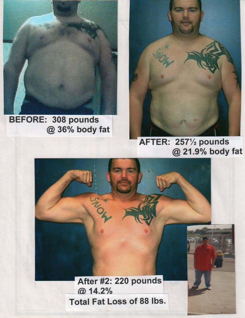 Warren Martin Fitness Results