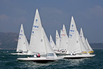 2011 Dragon Hong Kong Championship (copyright Hong Kong Dragon Class)