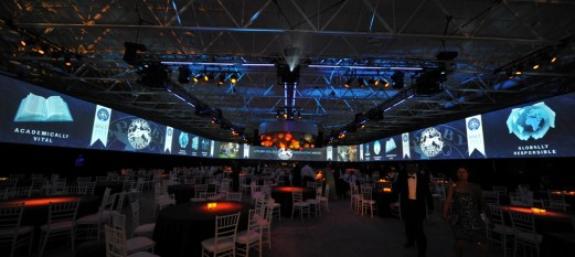 Christie Projectors Light up the Hockey Arena at Appleby College