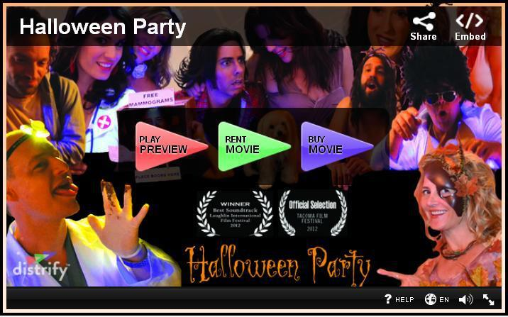 Halloween Party Distrify Player