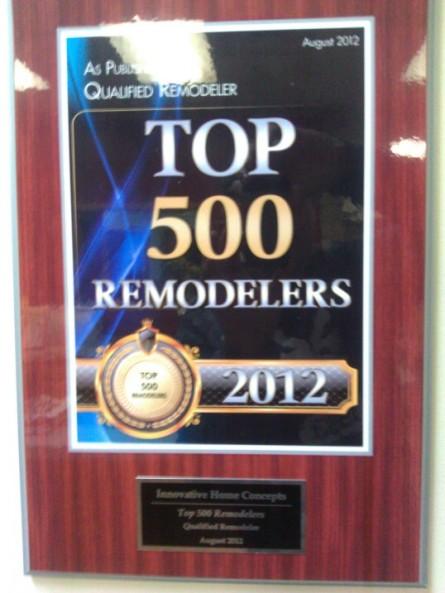 top 500 remodelers 2012