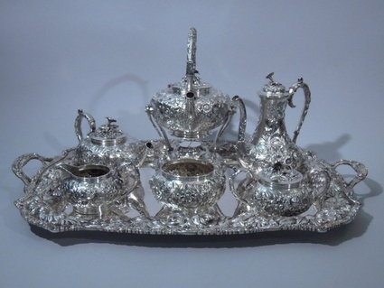 kirk american sterling silver tea coffee set